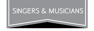 singers banner