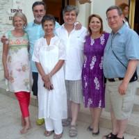Errol and Sue with Jo Walker, Jean-Charles , Cecilia Maurey and Paul Elliott.