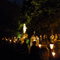 The moving annual Assumption Day procession